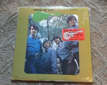 Sealed The Monkees More of the monkees Limited Ed.colored Vinyl Record LP Album Sundazed