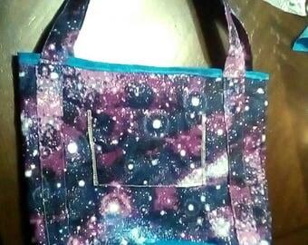 Galaxy tote- medium long straps