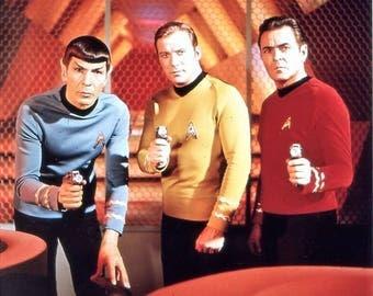 Cast from the Star Trek , 1960's