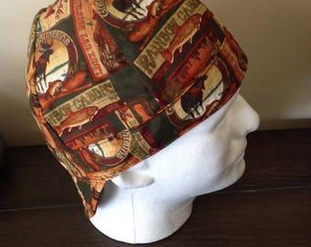 Reversible Welding Cap, Surgeon Hat,