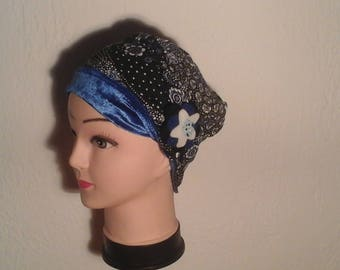 Chemo reversible, stretch, woman, girl winter Hat