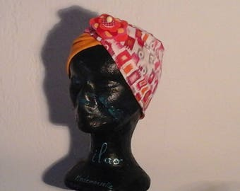 Multicolor child chemo Hat