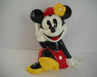 Minnie Mouse Cookie Jar Disney Cookie Jar