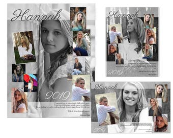 Yearbook Ads Templates - Hannah