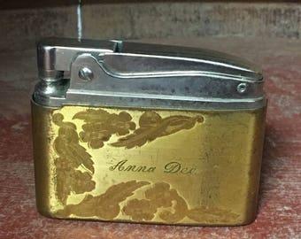 Vintage 1920 Elguin American Pocket Lighter