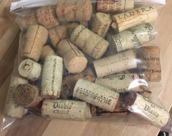 Bag of corks