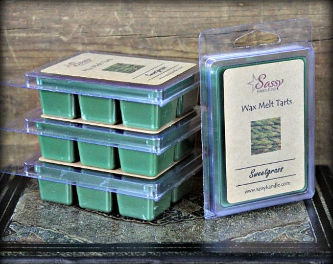 SWEETGRASS | Wax Melt Tart | Sassy Kandle Co.