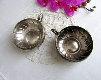 Classic Vintage Silver plated Bowls.