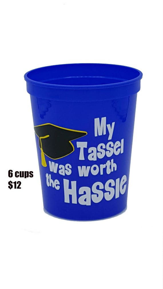 Graduation Party Stadium Cups Plastic Cups Graduation Party