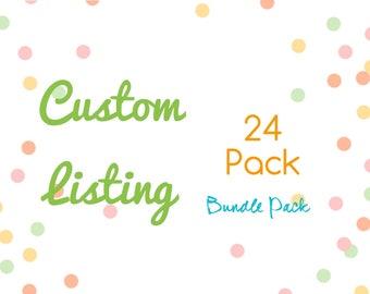 Momgaroo 24 Bundle AiO - Ai2 Pack Cloth Pocket Diapers One Size fits All