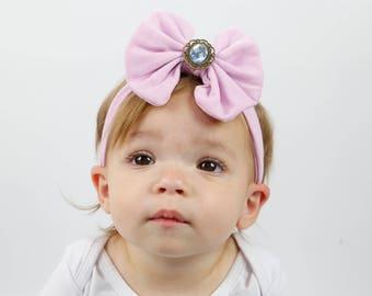 Lavender Headband/Baby Headband/Baby Headbands and Bow/Infant Headband/Baby Girl Headband/Girl Headband /Toddler Headband/Photo Prop Baby