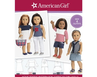 Simplicity 0677- Sewing pattern for 18 Inch Doll Clothes- Fits American Girl Dolls