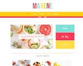 Wordpress Theme & Brand Suite - Maxene