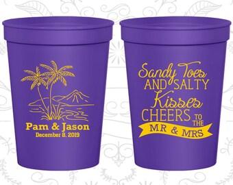 Violet Stadium Cups, Violet Cups, Violet Party Cups, Violet Wedding Cups (358)