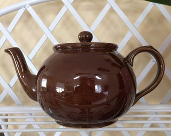 Vintage Arthur Wood Brown Betty Teapot Made in England