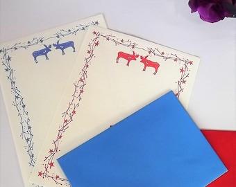 Moose notepaper