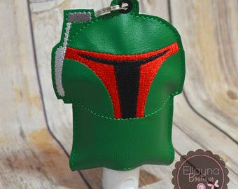 Hand Sanitizer Holder - Star Wars Inspired, Boba Fett