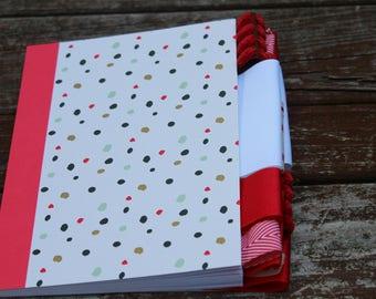 Red Dot Altered Journal