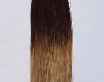 "18"" Ombre BALAYAGE 100grs,100s,I Tip (Stick Tip) Fusion Keratin Pre Bonded Remy Human Hair Extensions # T2-18/613"