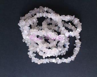 Out of Stock row of approximately 250 chips white Moonstone