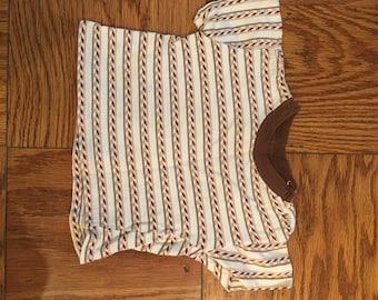 Vinatge Boy's Knit Striped Shirt
