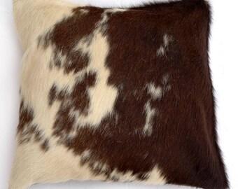 Natural Cowhide Luxurious Hair On Cushion/ Pillow Cover (15''x 15'') A46