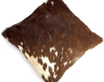 Natural Cowhide Luxurious Hair On Cushion/ Pillow Cover (15''x 15'') A53
