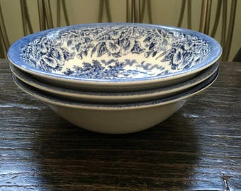 Vintage English EIT English Ironstone Transferware
