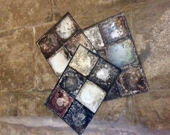 """COSCASET 1 set of 3 place mats """"STONES"""" placemats, kitchen, dining room, living room, home, decor, tablecloths"""
