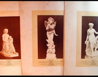 Centennial Photographic Co. 3 Large Prints International Exhibition Philadelphia 1776-1876 Rare