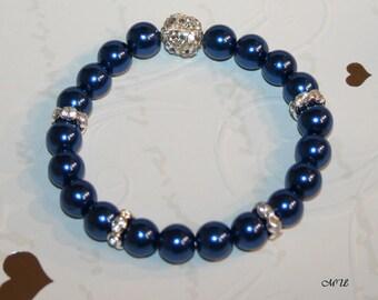 Pearl-Bracelet-blue