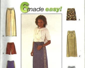 25% OFF Simplicity 8585         Misses Skirt, Pants and Shorts     Size 10,12,14   Uncut