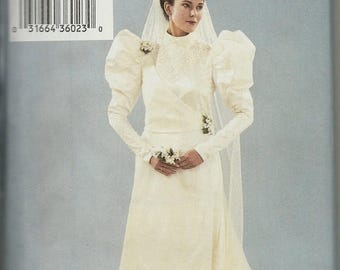25% OFF Butterick  3716       Misses Victorian Wedding Gown Costume   Size 18,20,22   Uncut