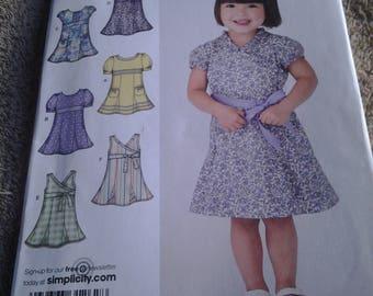 Simplicity 3512, Toddler's Dresses