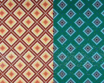 Diamond pattern, Resin Rhinestones Hot fix, 23x39cm