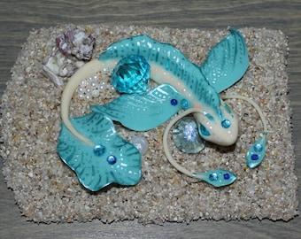 Enchanting Whimsical Sea Creature- Art by Jordyn