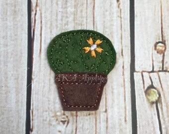 Cactus 2 Feltie Embroidery Design