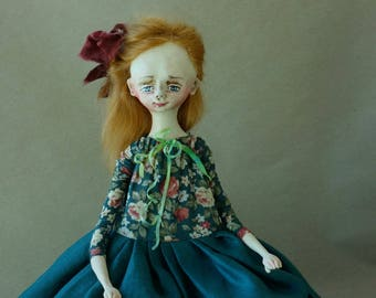 OOAK ART Doll Ingrid