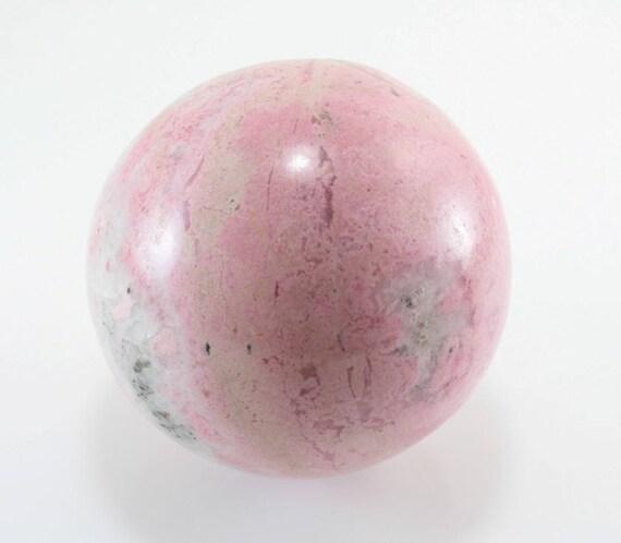 Rhodochrosite Sphere, M-1323