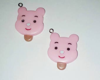 Ice bear head 1 X pink kawaii