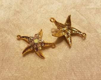 Starfish Gold-filled Pendant