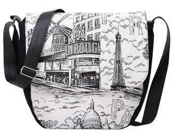 Hobo Paris Love black and white