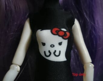 Dolls tops clothes outfit for Monster high/Ever after high doll- 000024-0