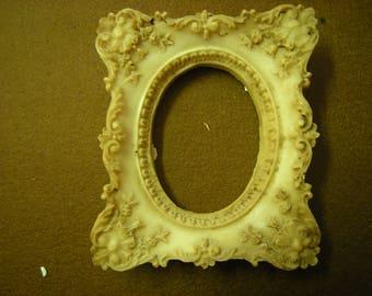 vtge frame-roccoco frame-resine frame-oval-wall hanging-wall display-bedroom-home and living-home decor-
