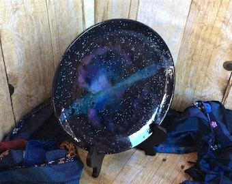 Starburst Galaxy Salad Plate