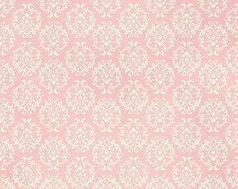 Anniversary Sale Love Rose Love~Tonal Pink~Cotton Fabric~Quiltgate~RU2300-17B~Fast Shipping F844