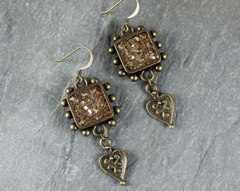 Bohemian Chic ~ Forest Fairy ~ Sparkle earrings