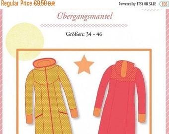 "Summer Sale Mialuna pattern transition coat ""Lady Shiva"""