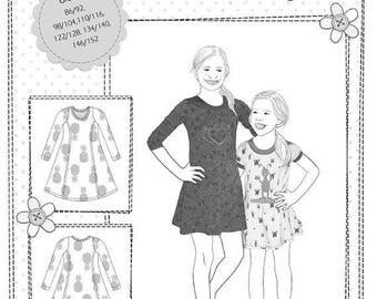Summer Sale Farbenmix pattern KIARA dress