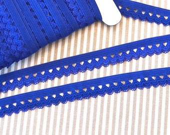 Summer Sale Ruffle rubber 1, 5 cm Royal Blue